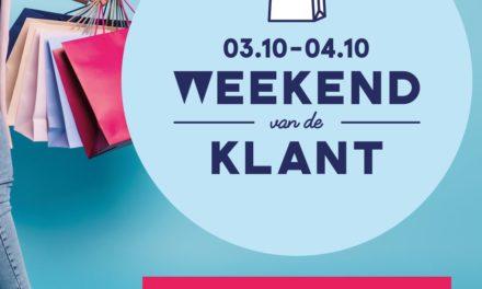 Weekend van de Klant – 3 & 4 oktober 2020.