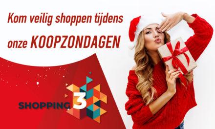 Zondag 13,20 en 27 december is ons Shopping Center open!